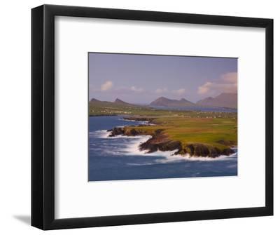 Ballyferriter Bay from Clougher Head, Dingle Peninsula, County Kerry, Munster, Ireland-Doug Pearson-Framed Photographic Print