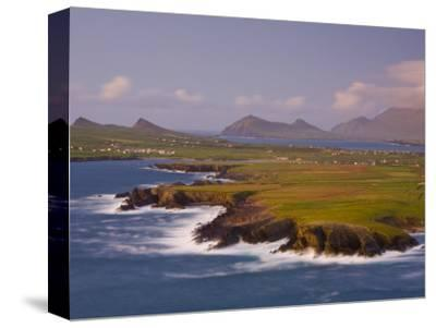 Ballyferriter Bay from Clougher Head, Dingle Peninsula, County Kerry, Munster, Ireland-Doug Pearson-Stretched Canvas Print