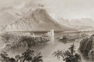 Ballynahinch, Connemara, County Galway, Ireland, from 'scenery and Antiquities of Ireland' by…-William Henry Bartlett-Giclee Print