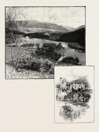 Balmoral and Balmoral Castle--Giclee Print