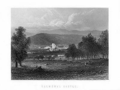 Balmoral Castle, Aberdeenshire, Scotland, 1899--Giclee Print