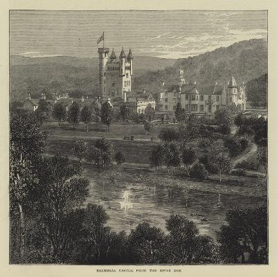 Balmoral Castle, from the River Dee--Giclee Print