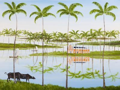 Balmy Backwaters, 2014-Rebecca Campbell-Giclee Print