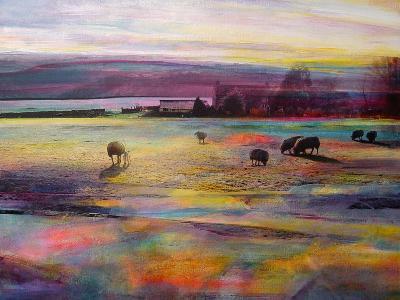 Balmy Summers Evening-Kate Boyce-Art Print