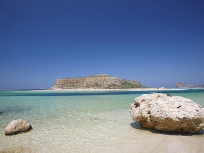 Balos Bay and Gramvousa, Chania, Crete, Greek Islands, Greece, Europe-Sakis Papadopoulos-Photographic Print