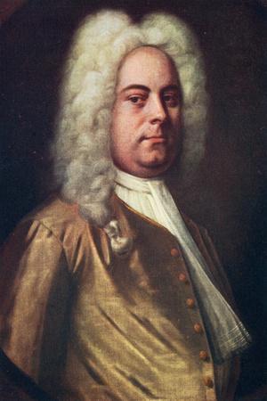 George Frideric Handel, (1685-175), German Composer, C1730S