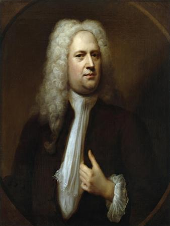 Portrait of George Frideric Handel, 1733