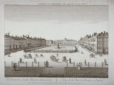 Leicester Square, Westminster, London, C1760