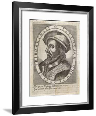 Balthasar Hubmaier German Theologian from Friburg--Framed Giclee Print