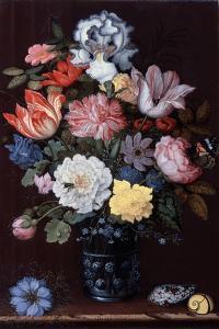 Floral Still Life with Shells, 1622 by Balthasar van der Ast