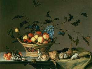 Still Life by Balthasar van der Ast