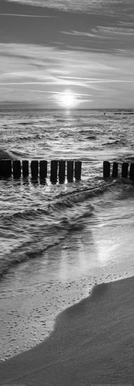 Baltic Seascape at Sunrise, Miedzyzdroje-Jan Wlodarczyk-Art Print