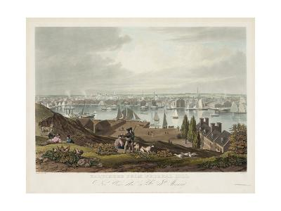 Baltimore from Federal Hill--Giclee Print
