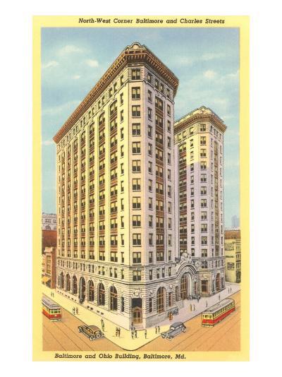 Baltimore & Ohio Building, Baltimore, Maryland--Art Print