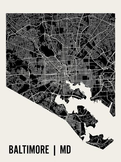 Baltimore-Mr City Printing-Art Print