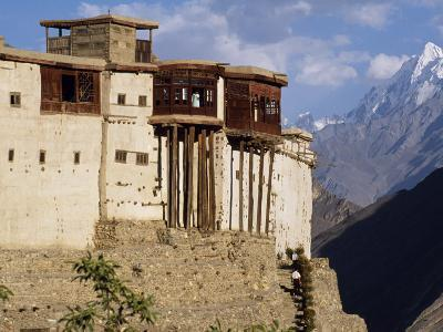 Baltit Fort, One of the Great Sights of the Karakoram Highway-Amar Grover-Photographic Print