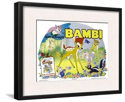Bambi, UK Movie Poster, 1942