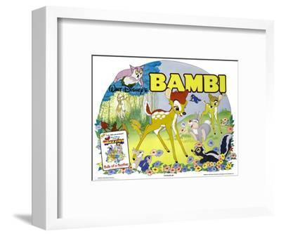 Bambi, UK Movie Poster, 1942