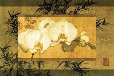 Bamboo and Orchids II-Ives Mccoll-Art Print