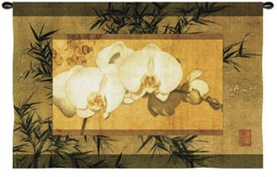 Bamboo and Orchids II-Ives Mccoll-Wall Tapestry