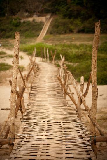 Bamboo Bridge-Erin Berzel-Photographic Print