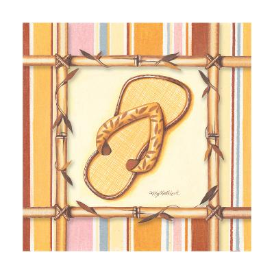 Bamboo Flip Flop I-Kathy Middlebrook-Art Print