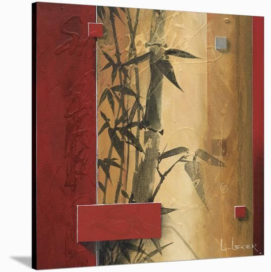 Bamboo Garden-Don Li-Leger-Stretched Canvas Print