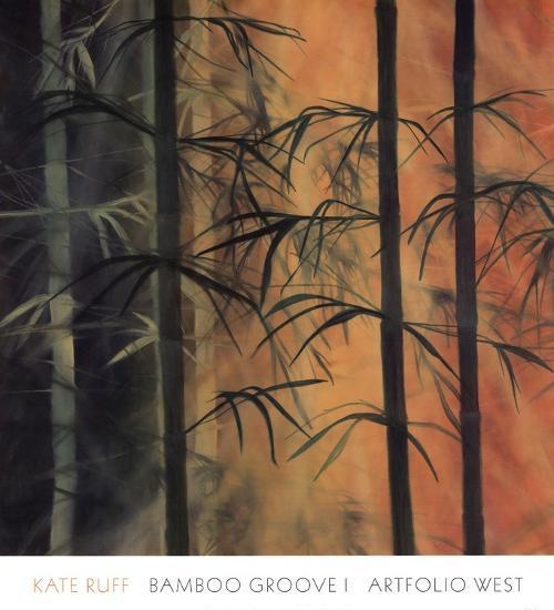 Bamboo Groove I-Kate Ruff-Art Print