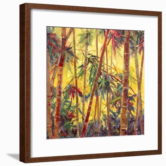 Bamboo Grove II-Nanette Oleson-Framed Art Print