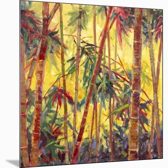 Bamboo Grove II-Nanette Oleson-Mounted Art Print