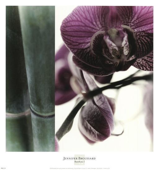 Bamboo I (Flower I)-Jennifer Broussard-Art Print