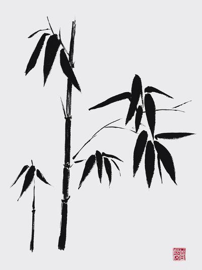 Bamboo II-Jenny Tsang-Giclee Print