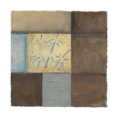 Bamboo in Blue-Mauro-Art Print