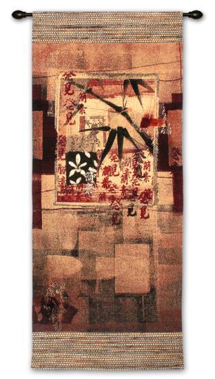 Bamboo Inspirations I-Thomas Mccoy-Wall Tapestry