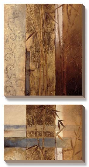 Bamboo Inspirations II-Tita Quintero-Canvas Art Set