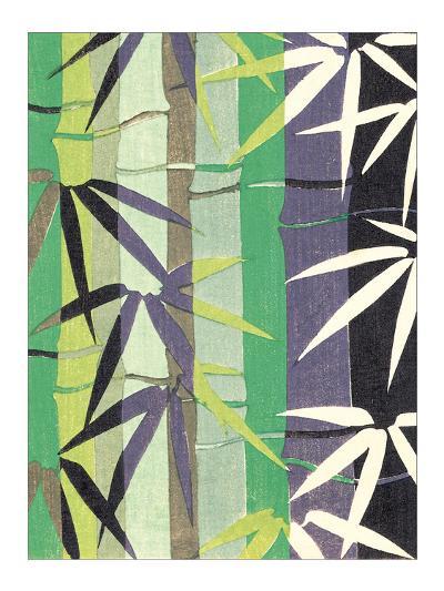 Bamboo Kimono Design II--Giclee Print