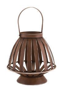 Bamboo Lantern Brown