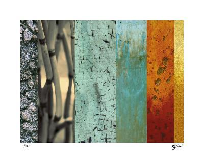 Bamboo & Lilies I-Mj Lew-Giclee Print