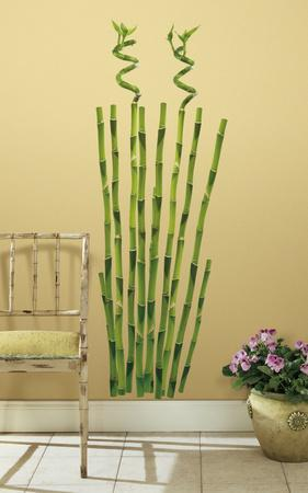 Bamboo Peel U0026 Stick Wall Decal