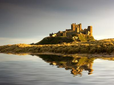 Bamburgh Castle; Bamborough, Northumberland, England, Uk-Design Pics Inc-Photographic Print