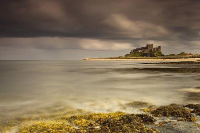 Bamburgh Castle under a Cloudy Sky; Bamburgh Northumberland England-Design Pics Inc-Photographic Print