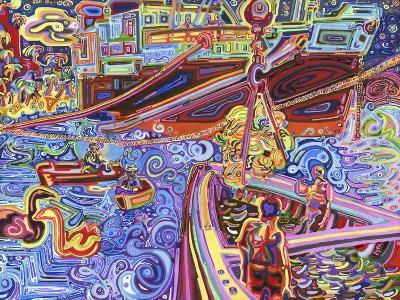 Banana Crane-Josh Byer-Giclee Print