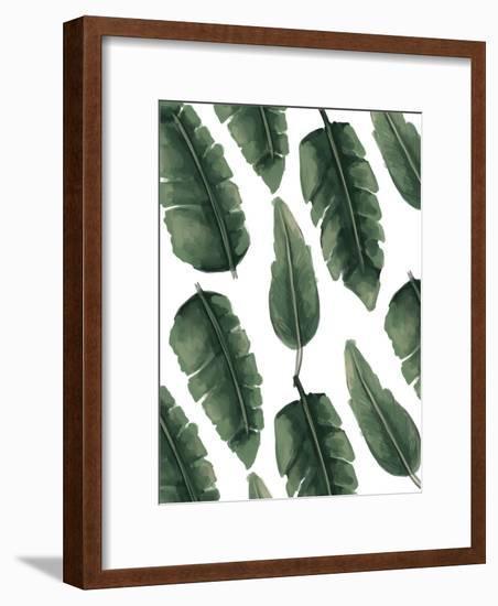 Banana Leaf Painting-Jetty Printables-Framed Art Print