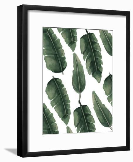 Banana Leaf Painting-Jetty Printables-Framed Art Print