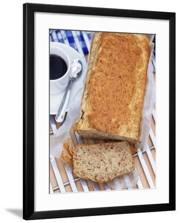 Banana Loaf Cake--Framed Photographic Print
