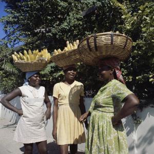 Banana Vendors, Kingston, Jamaica