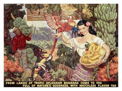 Bananas--Giclee Print