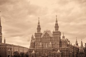 National Historic Museum at Red Square in Moscow by Banauke
