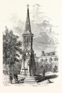 Banbury Cross, Memorial Cross Erected in Honour of the Marriage of the Princess Royal. Uk