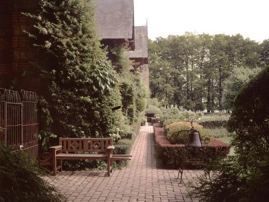 Banc de Jardin #27-Alan Blaustein-Photographic Print
